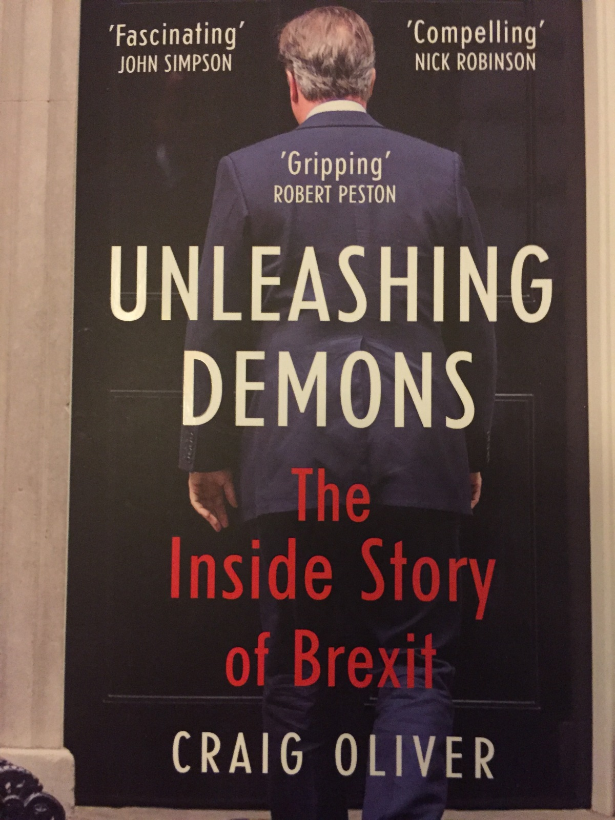 Craig Oliver's Unleashing Demons – not as bad as you might haveheard