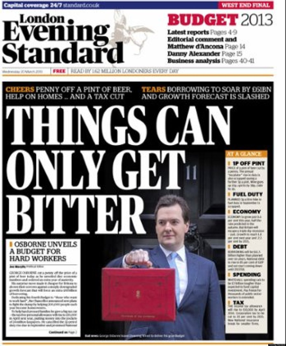 George Osborne's Evening Standard dilemma in Jeremy Corbyn's city